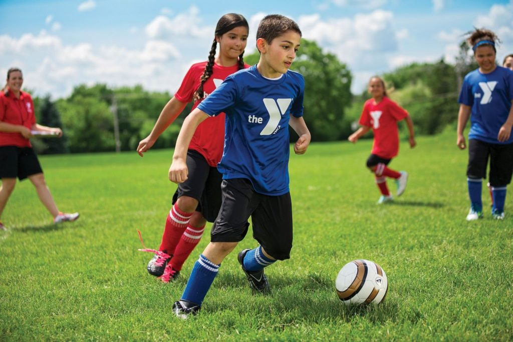 Why it's so important to always use a warm-up soccer drill with children